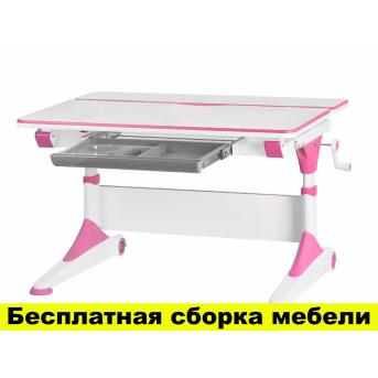 Cтол Evo-Kids Alberto 1000 Розовый