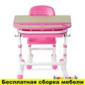 Комплект FunDesk Парта и стул-трансформеры Sorriso Pink
