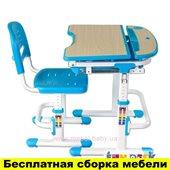 Комплект FunDesk Парта и стул-трансформеры Sorriso Blue
