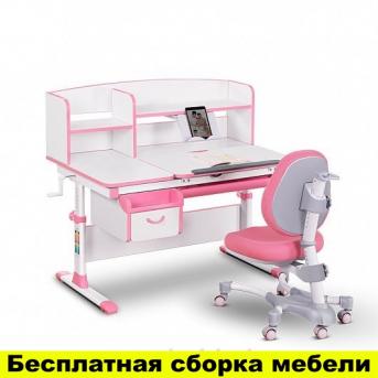Комплект Evo-kids (стол+ящик+надстройка+кресло) Evo-50 PN