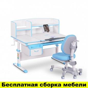 Комплект Evo-kids (стол+ящик+надстройка+кресло) Evo-50 BL