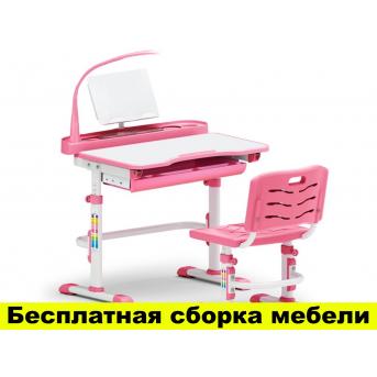 Комплект Evo-kids (стул+стол+полка+лампа) Evo-18 PN с лампой