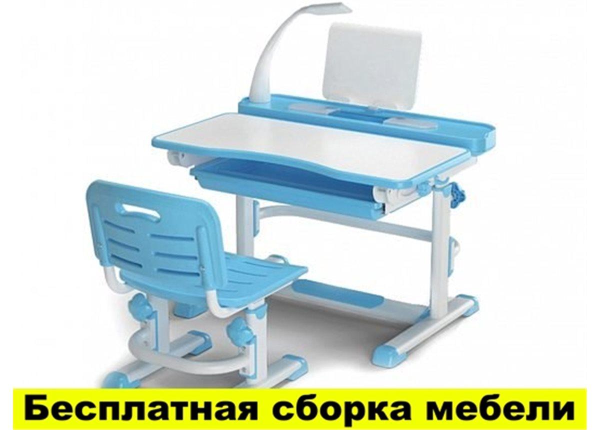 Комплект Evo-kids (стул+стол+полка+лампа) BD-04 B New с лампой