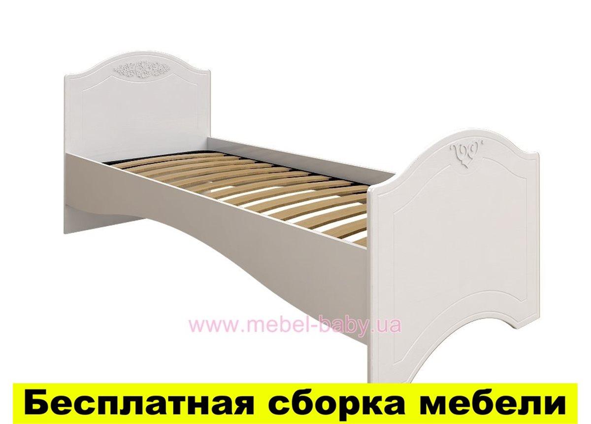 Кровать без ламелей Ассоль АС-09 Санти Мебель 80x190/200