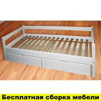 Одноярусная кровать Альбина 80x190 Сосна