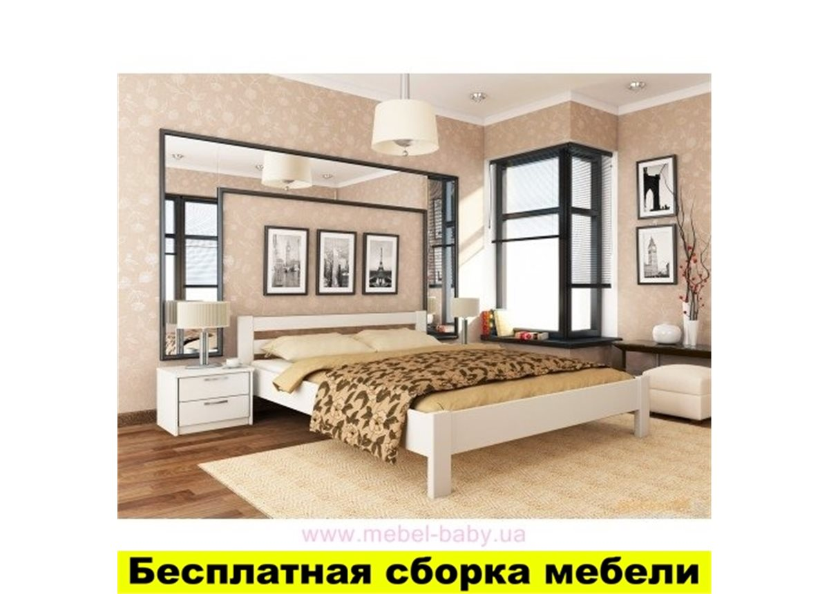 Кровать Рената 80х190 щит бука Эстелла