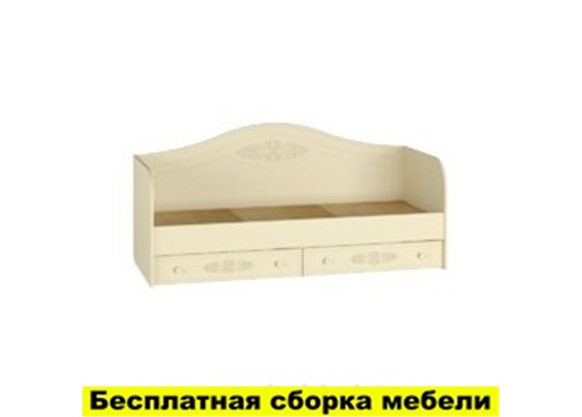 Кровать Ассоль Premium АС-10 Санти Мебель 90x200 бежевый