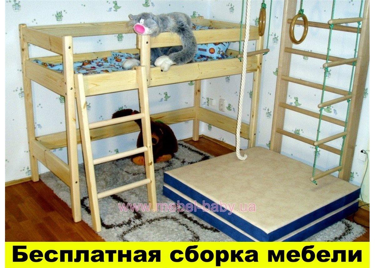 Кровать-чердак 70x160 Ирель 150