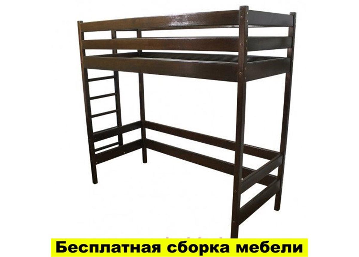 Кровать-чердак высокая Альпы Тон Ирель 150