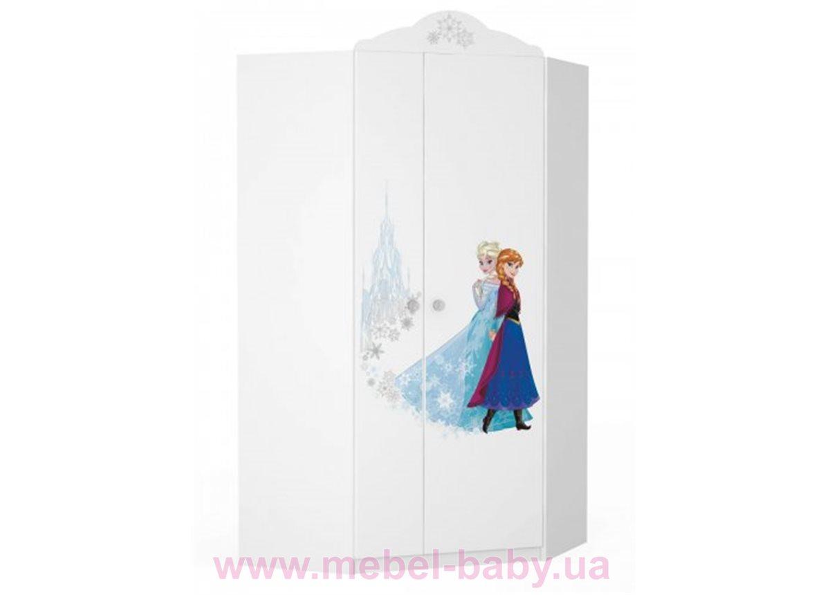 420_Шкаф угловой 970 Frozen Meblik белый