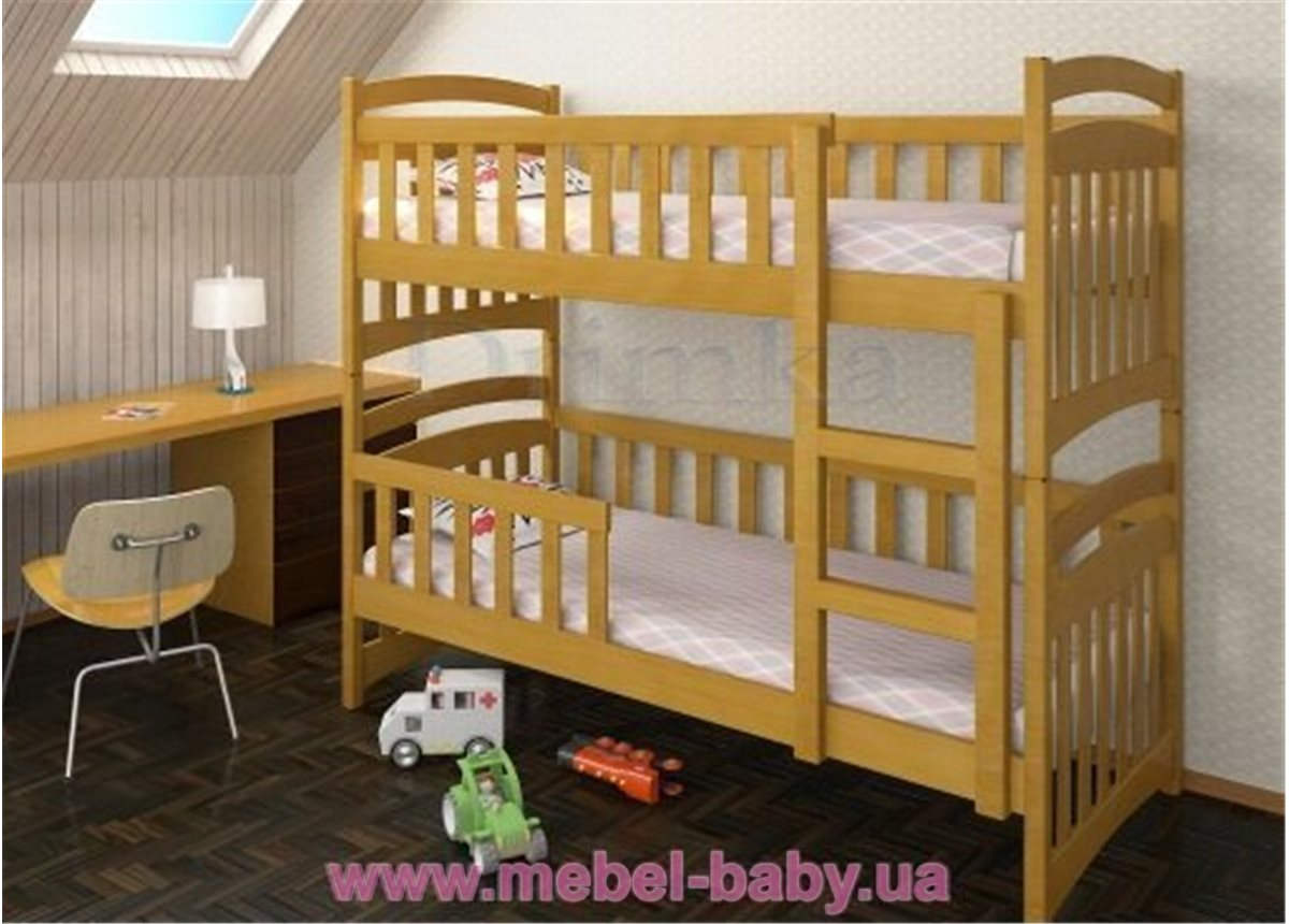 Распродажа Трехместная кровать Белоснежка Плюс Дримка Тон 112 190x80