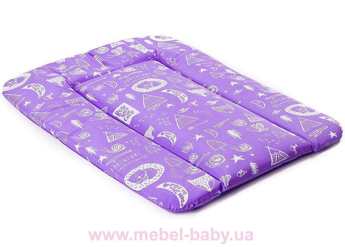 Мягкий пеленатор Ommi Квест 500 Фиолетовый Ukr-torg