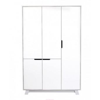 Шкаф Manhattan 1200 Верес Бело-серый