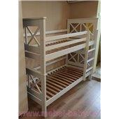 Двухъярусная кровать Лея 80х190