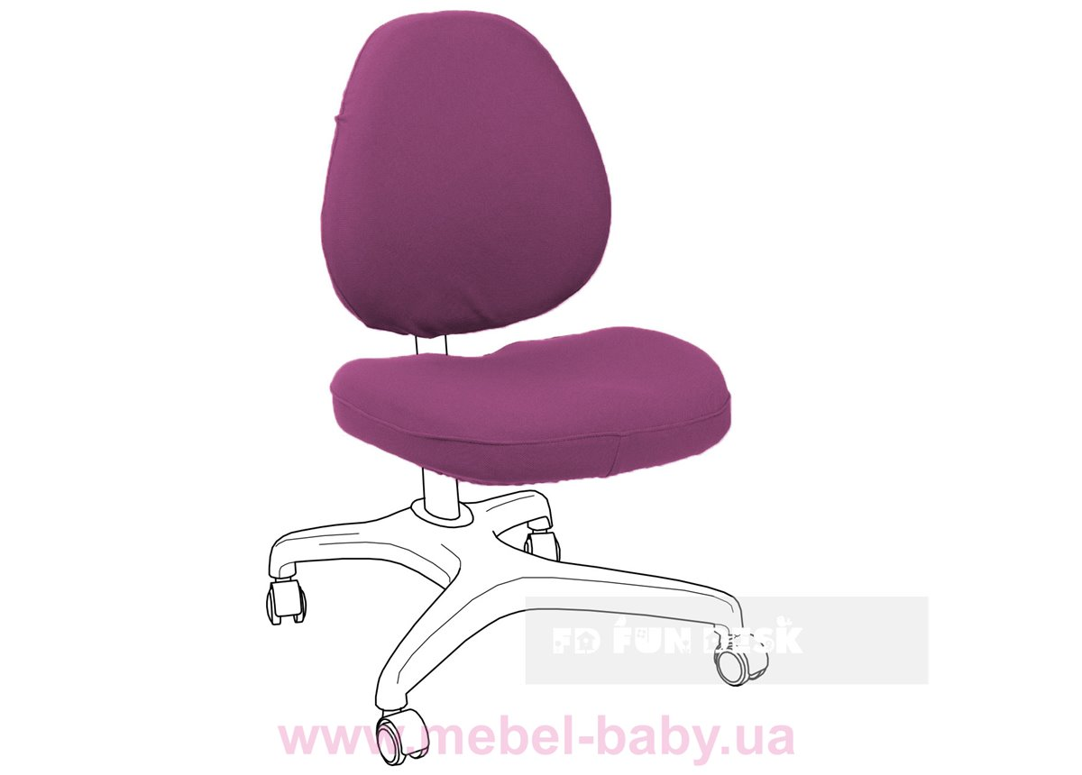 Чехол для кресла Bello I Chair coverViolet FUNDESK