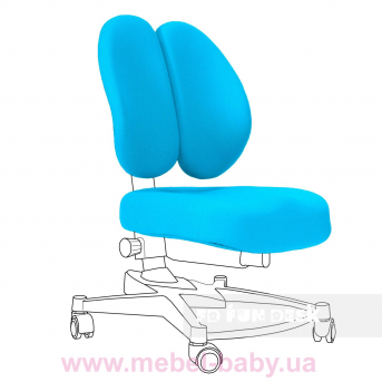 Чехол для кресла Contento Chair cover Blue FUNDESK