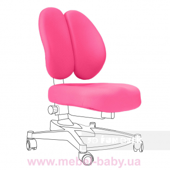 Чехол для кресла Contento Chair cover Pink FUNDESK