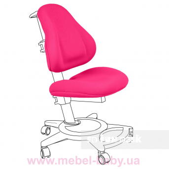 Чехол для кресла Bravo Chair cover Pink FUNDESK