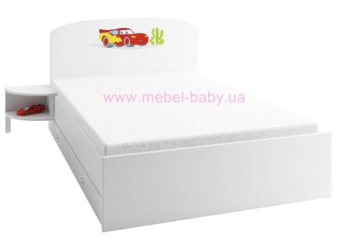 179_Кровать 120х200 Meblik Тачки