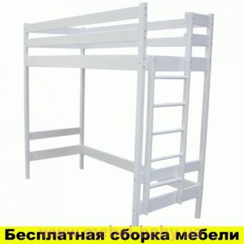Кровать-чердак Альпы Белая Ирель 187