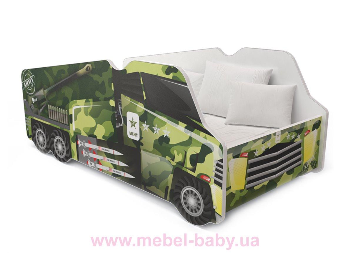 Кровать ГРУЗОВИК2 Fmebel KA 70x140