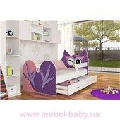 Кровать СОВУШКА с ящиком Fmebel KA