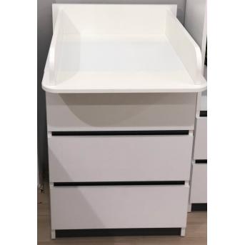 Распродажа Комод CITY C1 600 Белый со съемным пеленатором