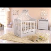 Кроватка детская LUX4 накладка Angelo 60x120