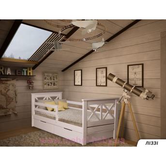 Кровать-диванчик Лея Fmebel LM 80х190 белый
