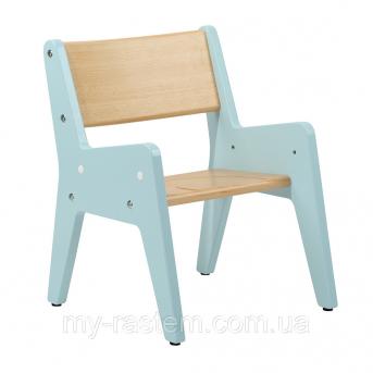 Распродажа Растущий стульчик OMINO FunDesk голубой