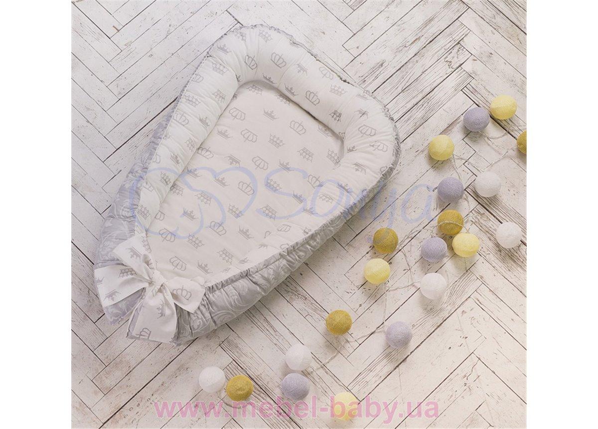 Кокон Baby Design премиум Короны