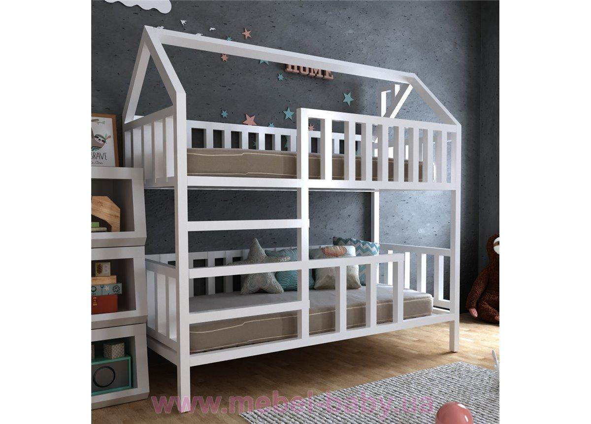 Двухъярусная кровать Молли 80х190 MegaОПТ