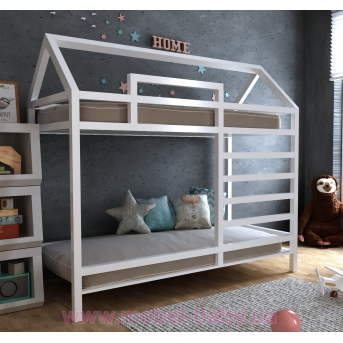 Двухъярусная кровать Джина 80х160 MegaОПТ