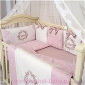 Комплект Elegance розовый (6 предметов) Маленькая Соня
