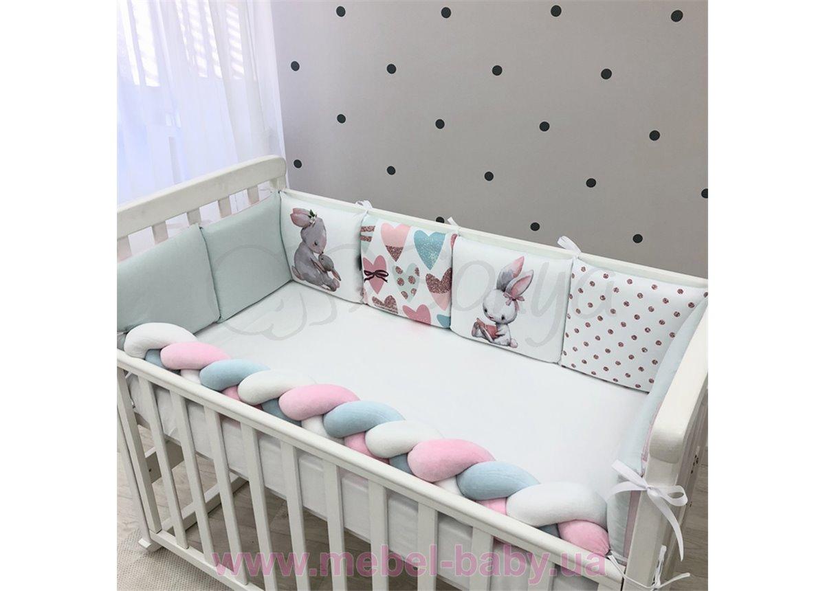 Art Design Зайчики розовый  (6 предметов) Маленькая Соня