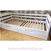 Кровать-диванчик Хюго (масcив) Луна 80x190