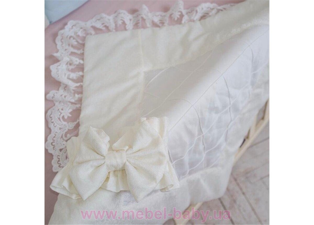 Конверт Elegance резинка с бантом молочный  80х80 Маленькая Соня