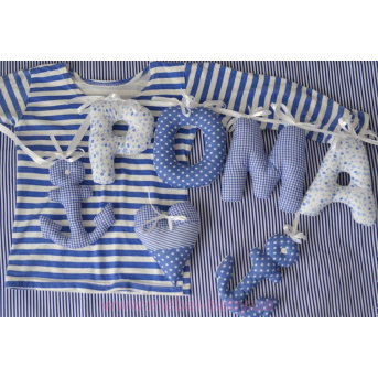 Подушки - буквы (с именем вашего малыша) IngVart
