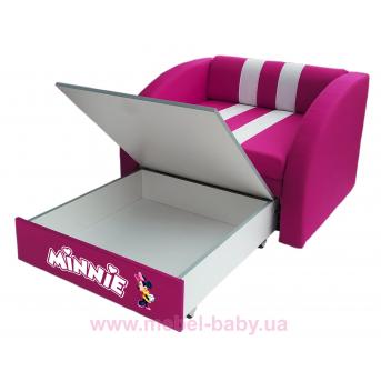 Кресло-диван SMART SM 005 102 Viorina-Deko малиновый