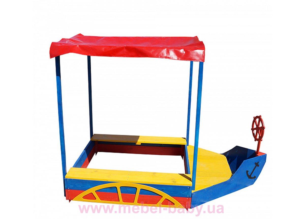 Песочница катер Sportbaby