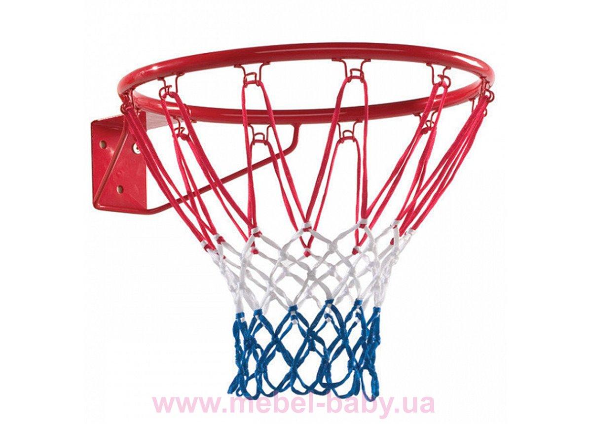 Кольцо баскетбольное 45 см с сеткой Sportbaby