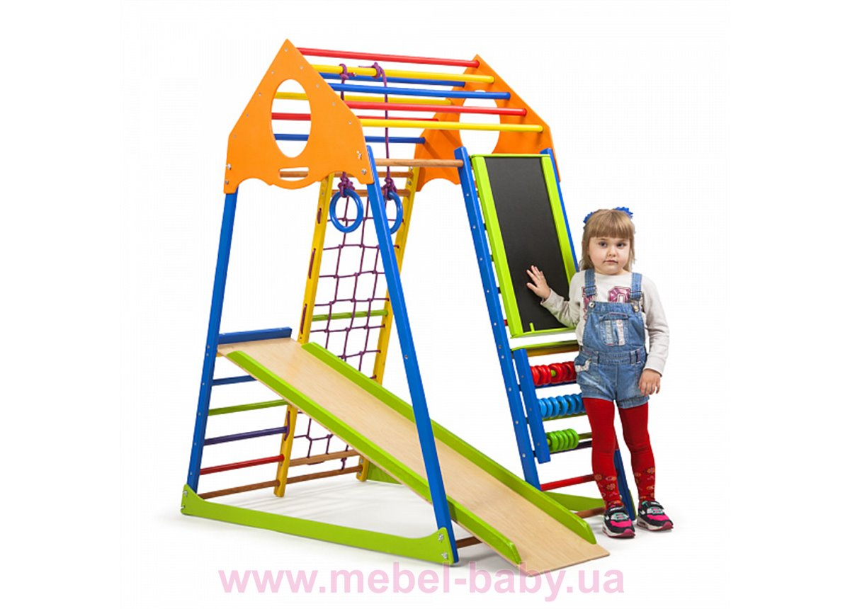 Детский спортивный комплекс KindWood Color Plus SportBaby