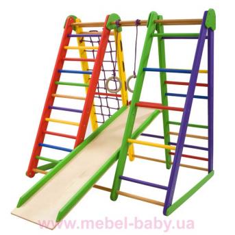 Детский спортивный уголок «Эверест-3»  SportBaby