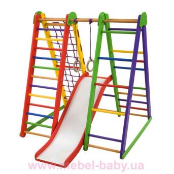 Детский спортивный уголок «Эверест-4»  SportBaby