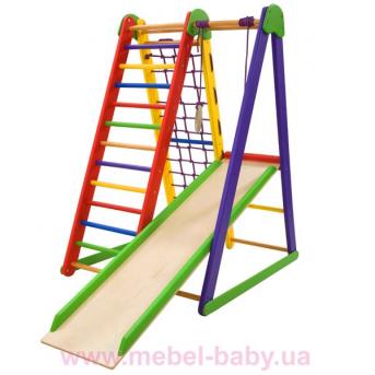 Детский спортивный уголок для дома  «Kind-Start-3»  SportBaby