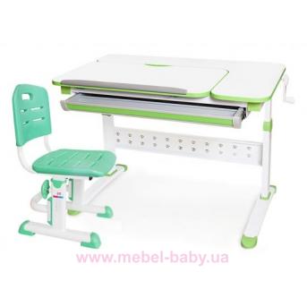 Комплект Evo-Kids стол Martin WZ+стул Evo-301 Z 1000 зеленый