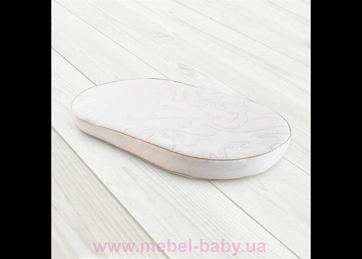 Матрас детский  BabySleep OVAL «Eco BiCocos » (чехол жаккард) VIALL 122*71*6