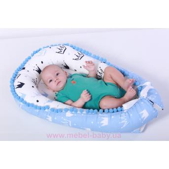 Кокон - гнездышко для новорожденного 90х65 Мирамель