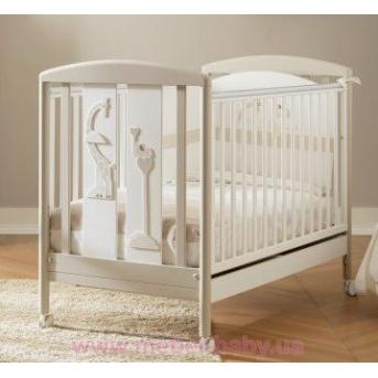 Не качающаяся кроватка Savana White 63х125 Pali Белый