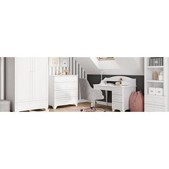 Детская комната Simple White Meblik белый